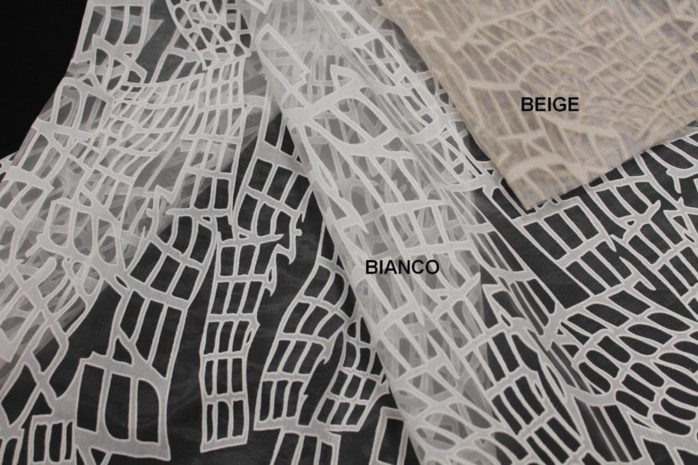 Tessuto per tende a rullo a tinta unita in pvc in poliestere